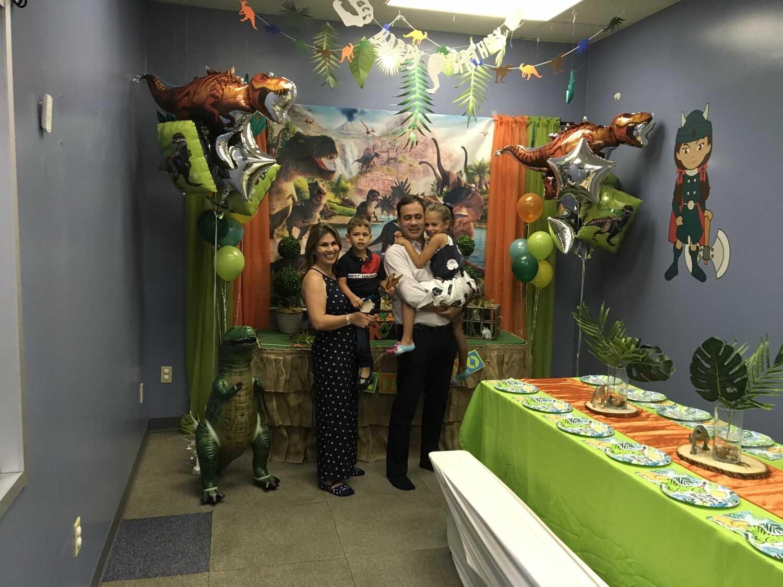 4 year old boy birthday party orlando fl - dinosaur themed