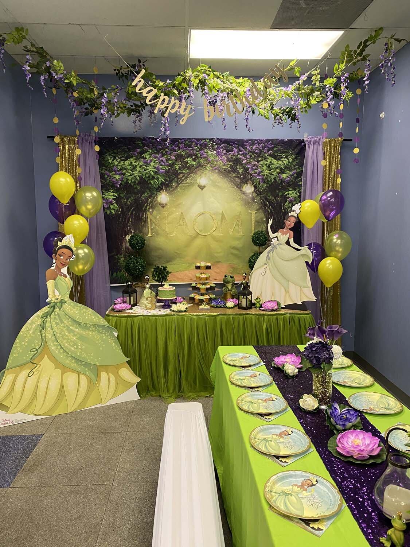 Princess The Frog Themed Birthday Party Orlando Fl Princesses Princes