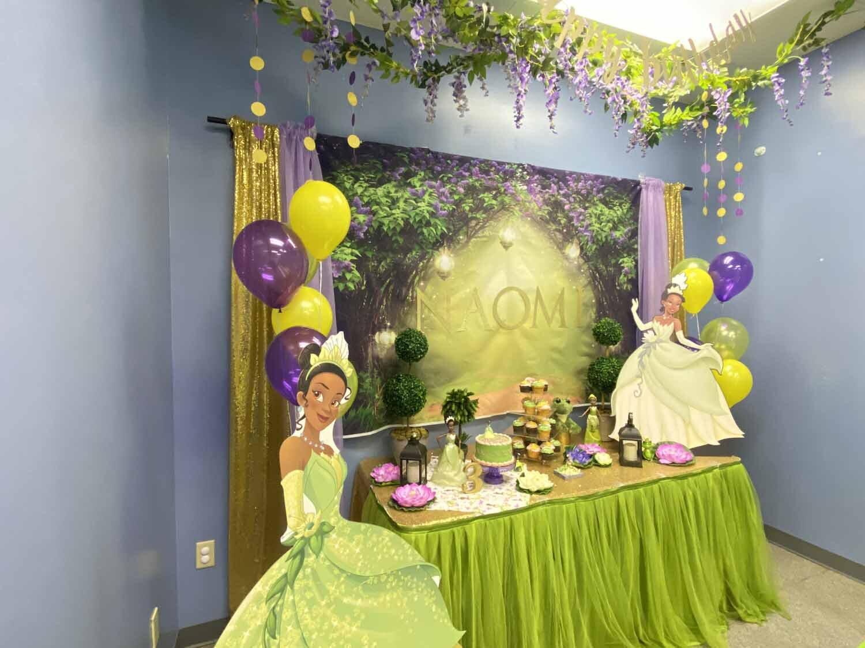 Princess And The Frog Tianna Party Decorations Orlando Fl Princesses Princes