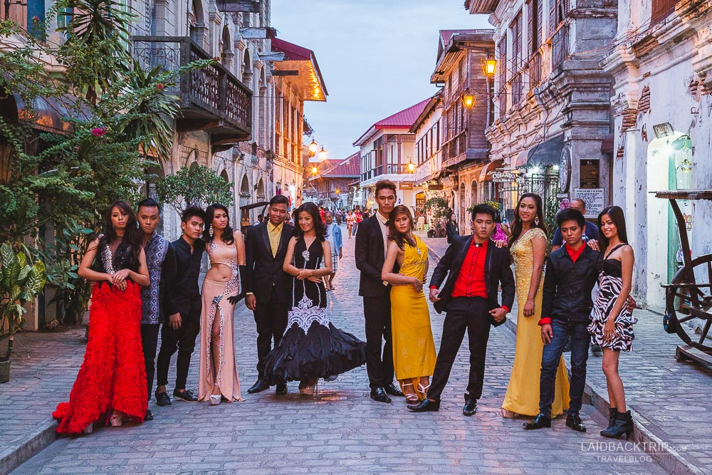 filipino festivities in vigan luzon | what to see and do in vigan guide by laidbacktrip
