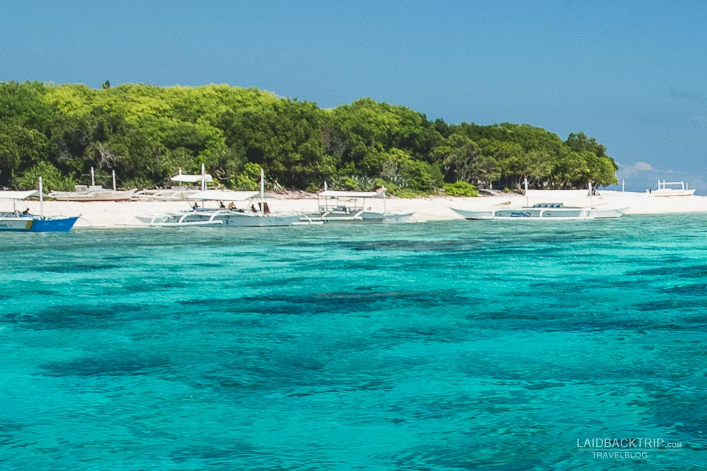 balicasag and virgin island adventure in bohol island | philippines travel guide by LaidBackTrip