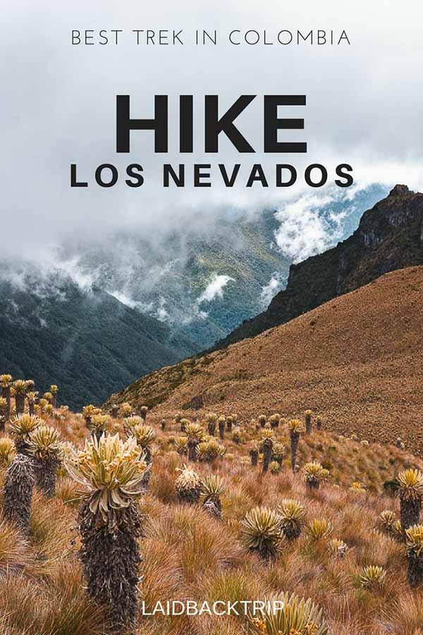 Hiking in Los Nevados, Colombia