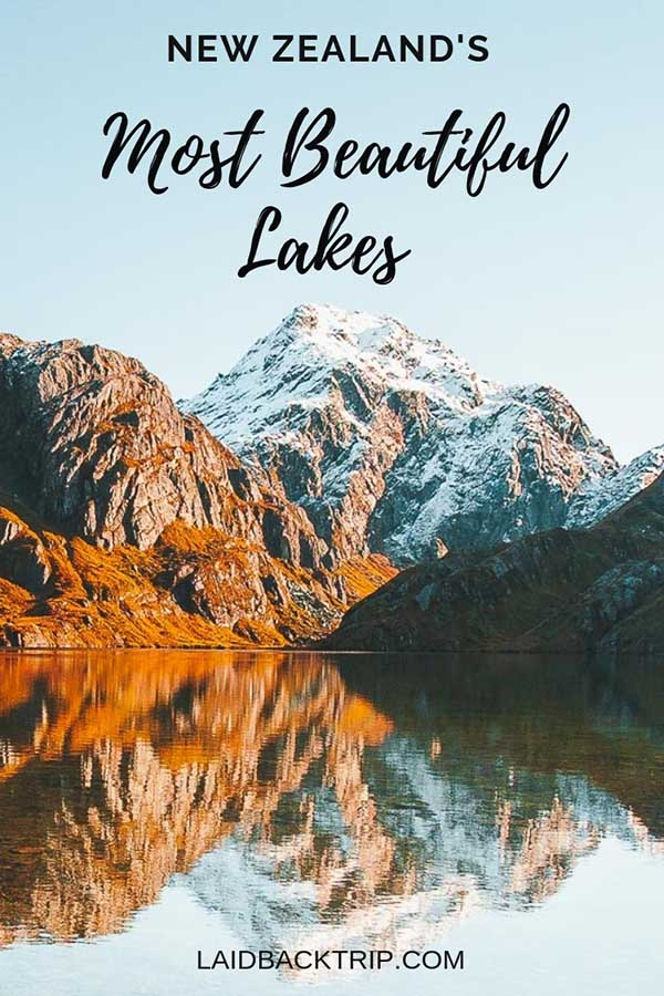16 Most Beautiful Lakes in New Zealand
