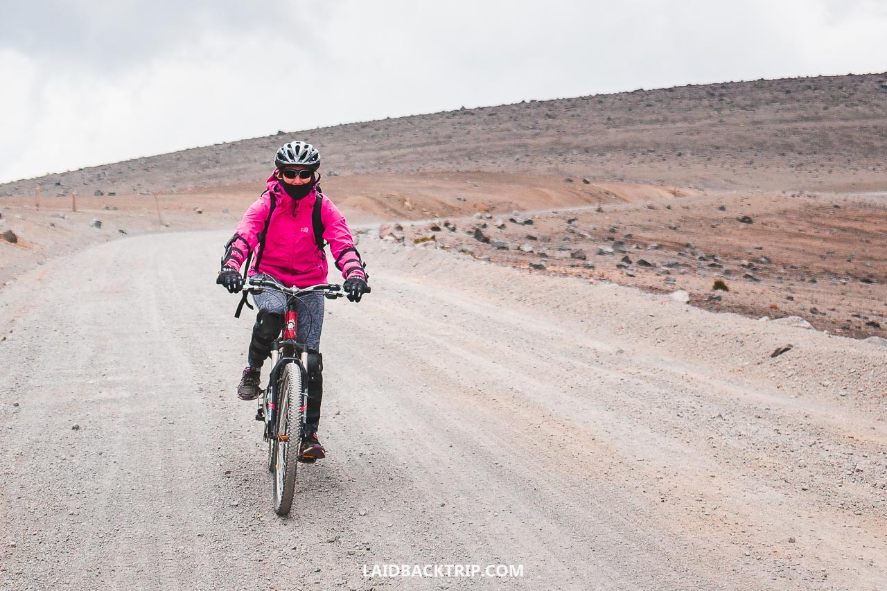 Biking Chimborazo is one of the best things you can do while visiting Riobamba, Ecuador