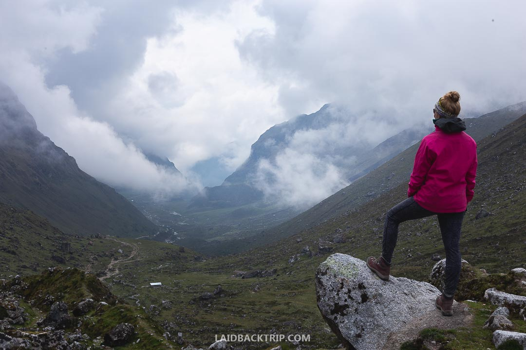 Salkantay Trek is moderately difficult hike with some challenging climbs