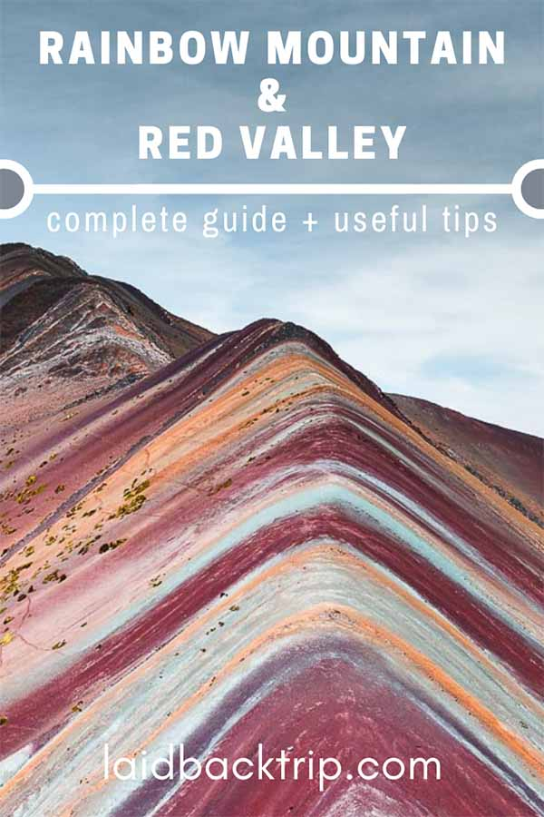 Rainbow Mountain and Red Valley Guide