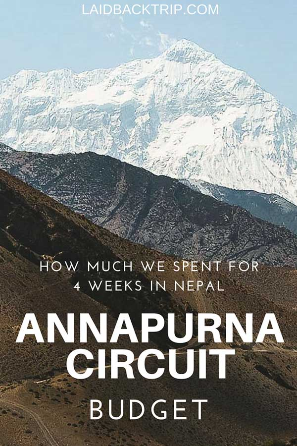 Nepal and Annapurna Circuit Budget Guide