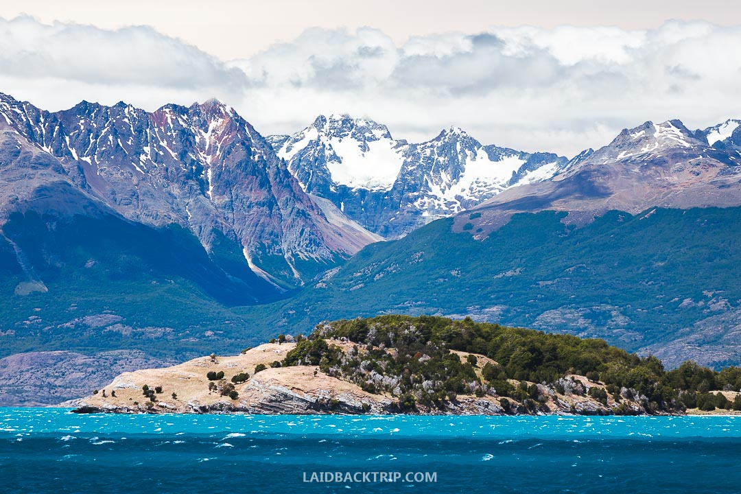 Visiting Marble Caves is a must to do while traveling Carretera Austral.