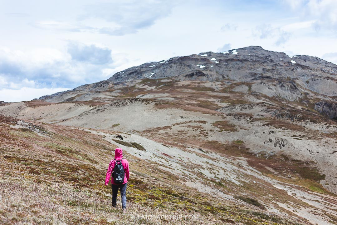The weather is harsh in the park, changes fast, and you should bring good hiking gear.