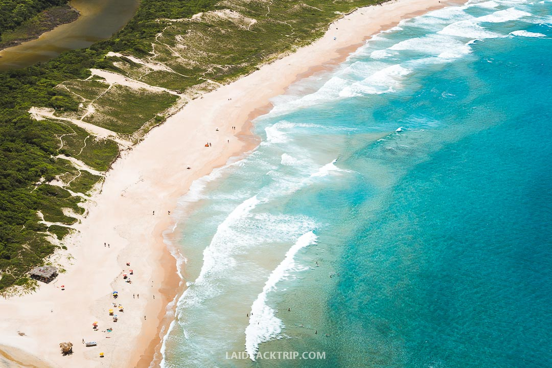 Florianopolis has some of the best beaches in Brazil and attracts visitors from around the world.