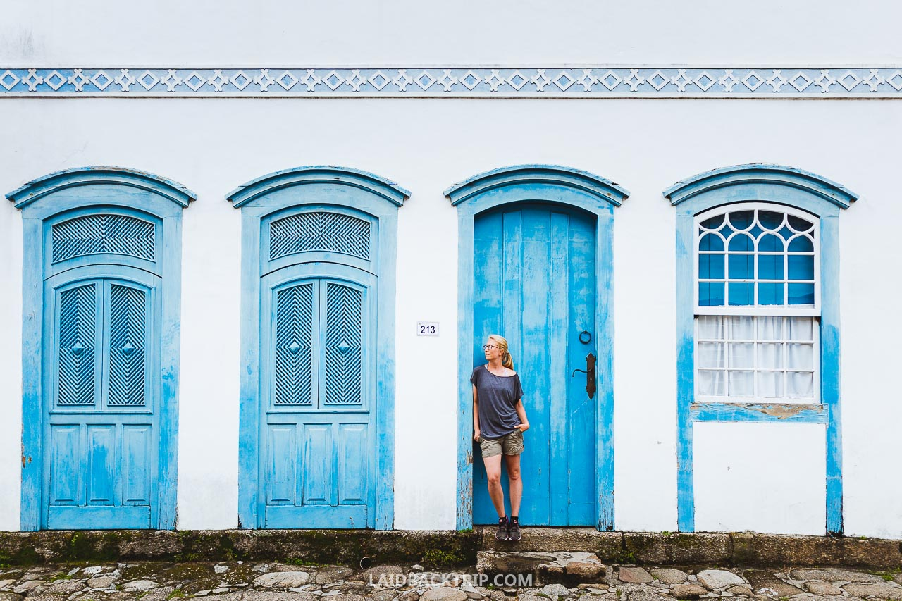 The historic city center of Paraty is a must visit place on your Brazil trip.