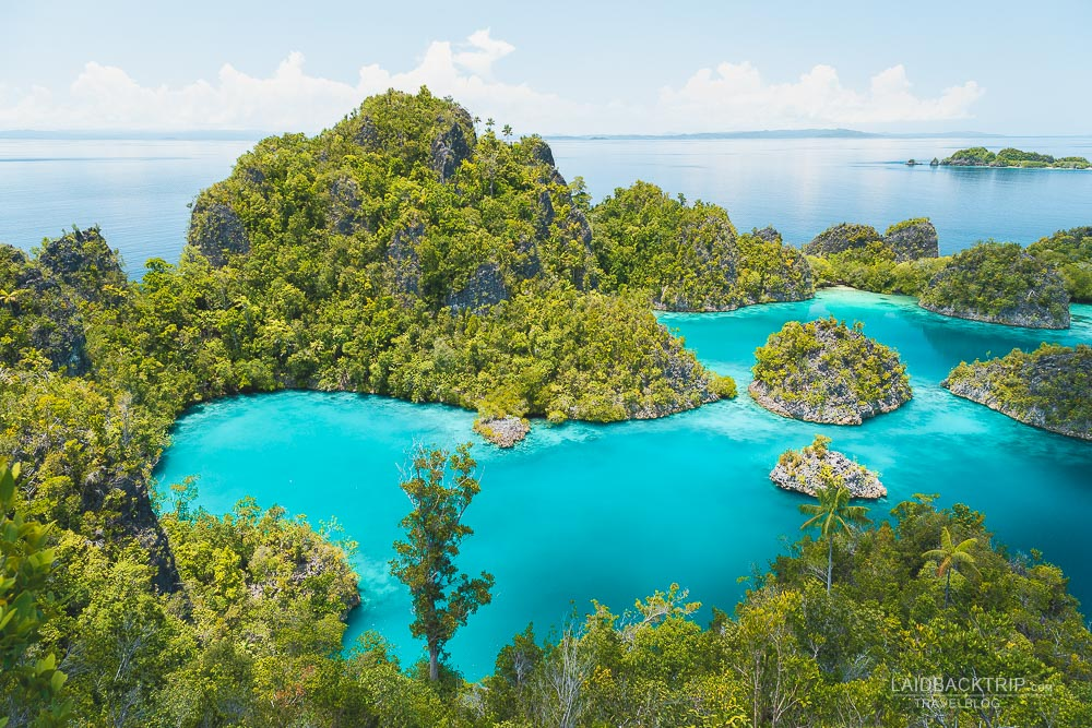 Piaynemo Lookout is a postcard viewpoint and must visit place in Raja Ampat archipelago.