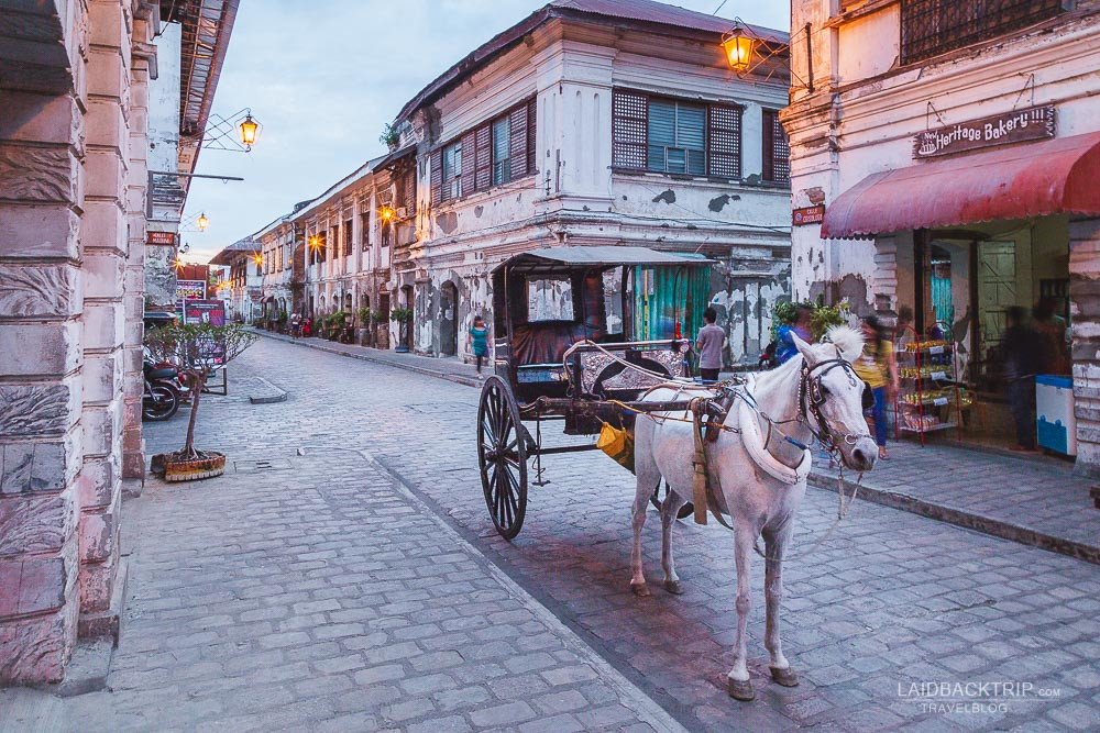 Travel back in time at Vigan City