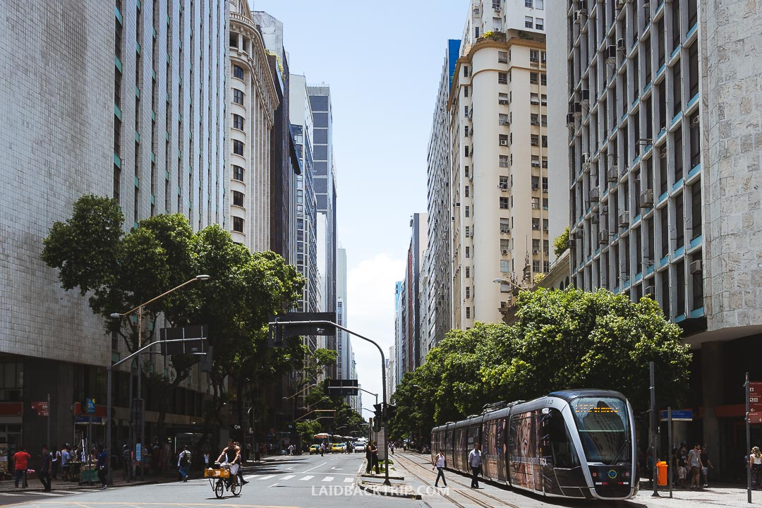Getting around in Rio de Janeiro is easy with public transport.