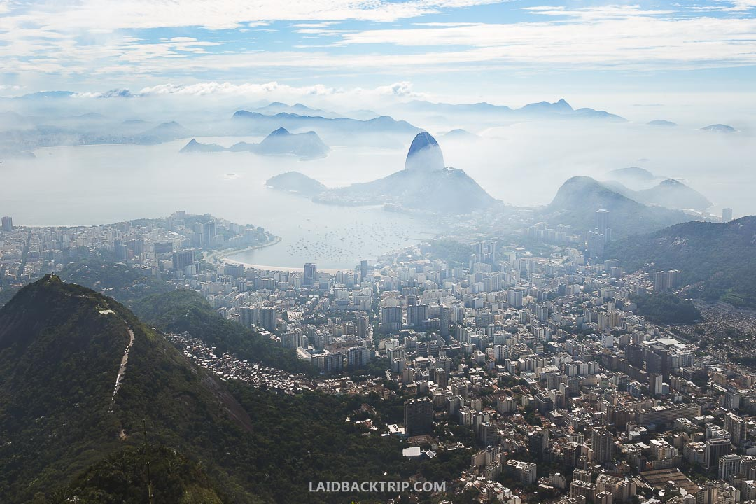 Christ the Redeemer is one of the best-known tourist attractions in the world.