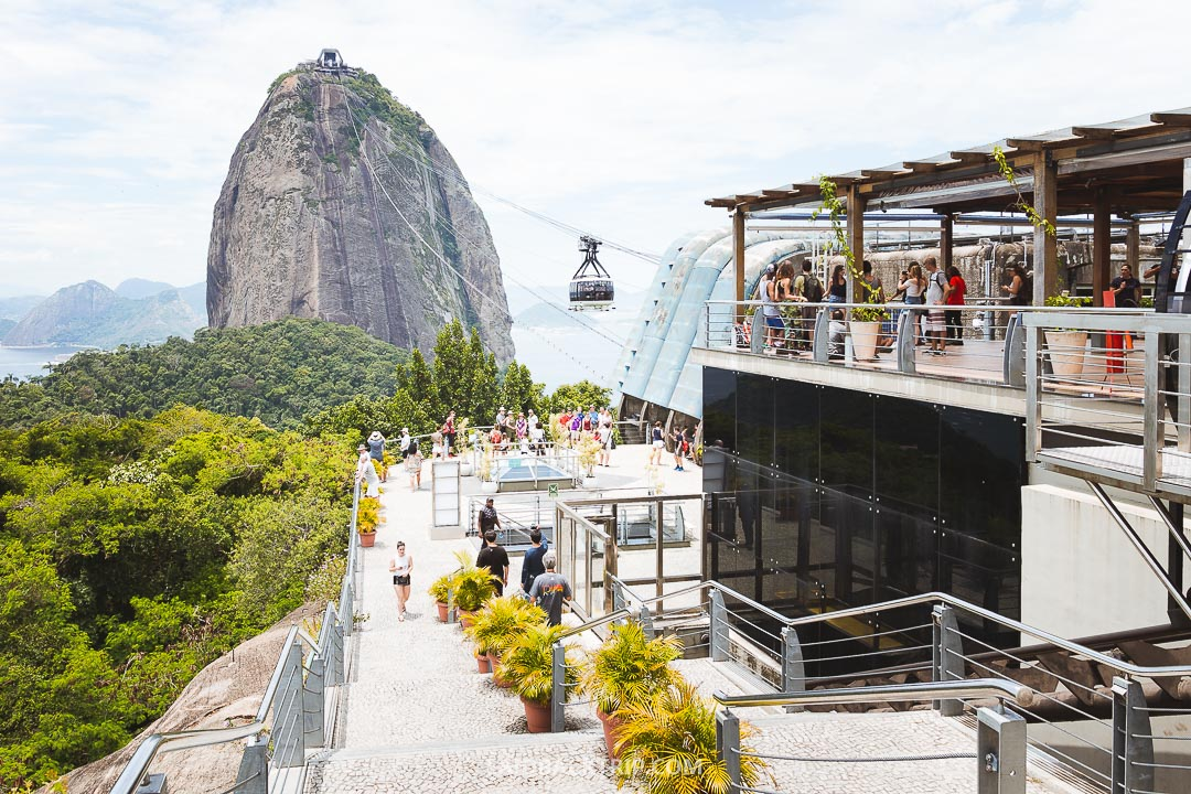 Sugarloaf mountain is a must visit while in Rio de Janeiro.