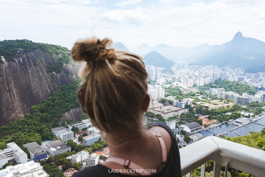 A visit to Sugarloaf mountain was a highlight of our stay.