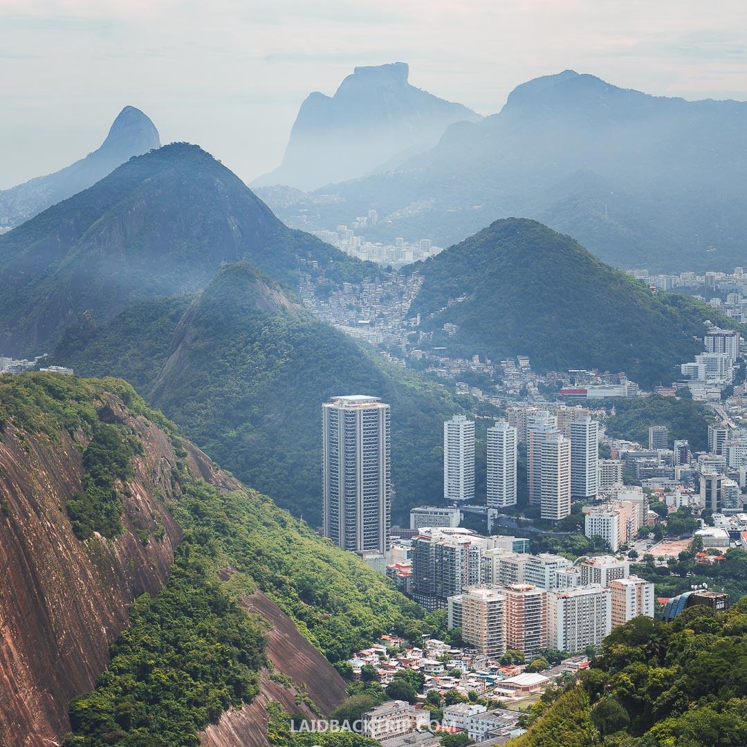 The city landscape of Rio de Janeiro, the mountains, coast, beaches will blow you away.
