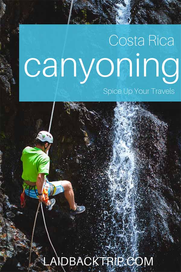 Canyoning Tour in Jaco