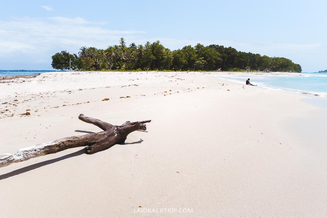 If you love sandy beaches, Bocas del Toro, Panama is the place to go.