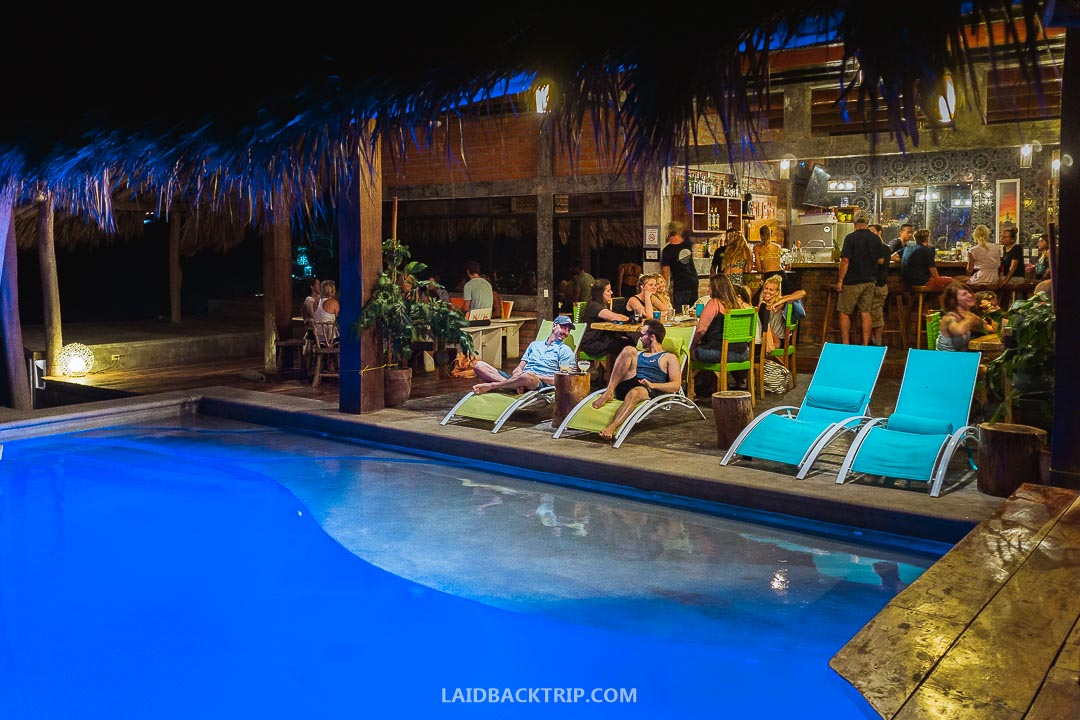 You can find night life and party events in San Juan del Sur, Nicaragua.