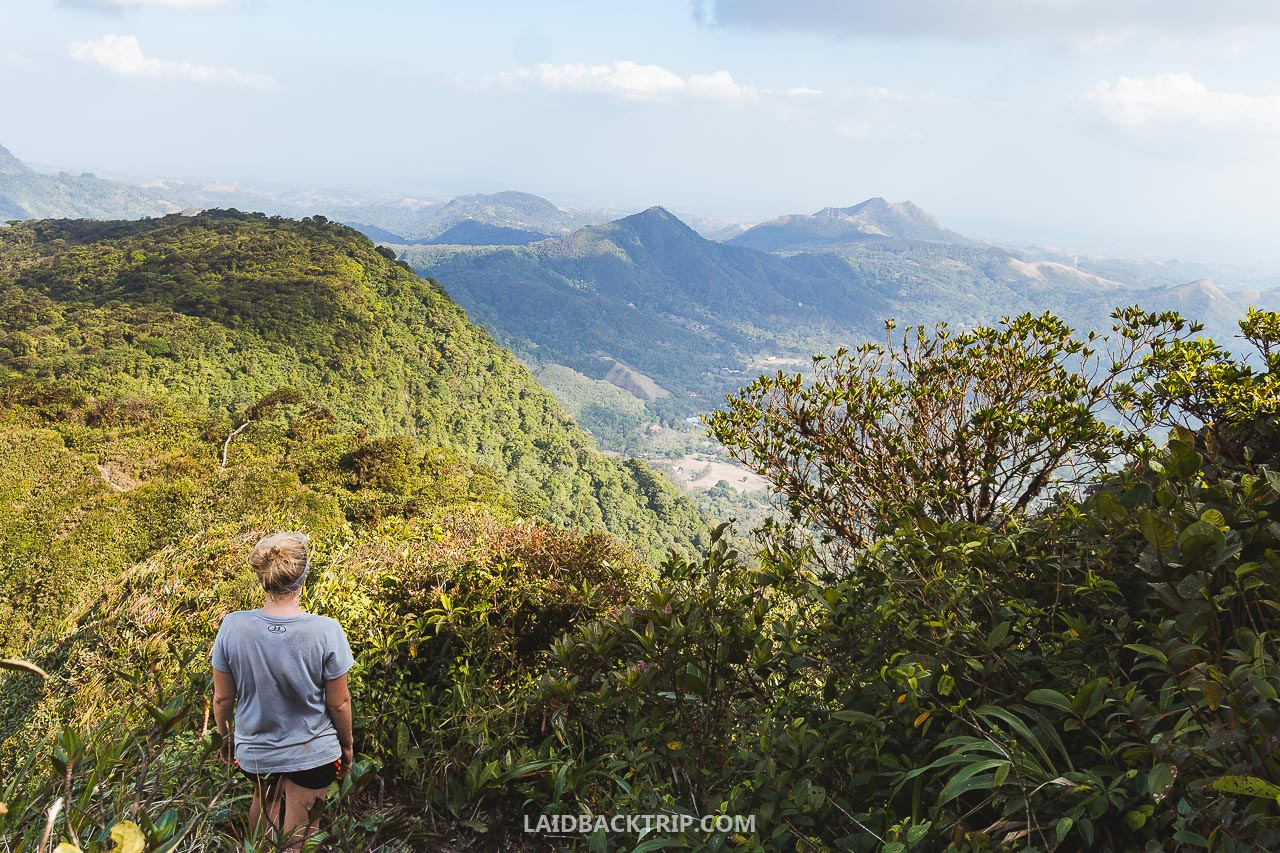 Hiking to Cerro Gaital is one of the best things to do while visiting El Valle de Anton, Panama.