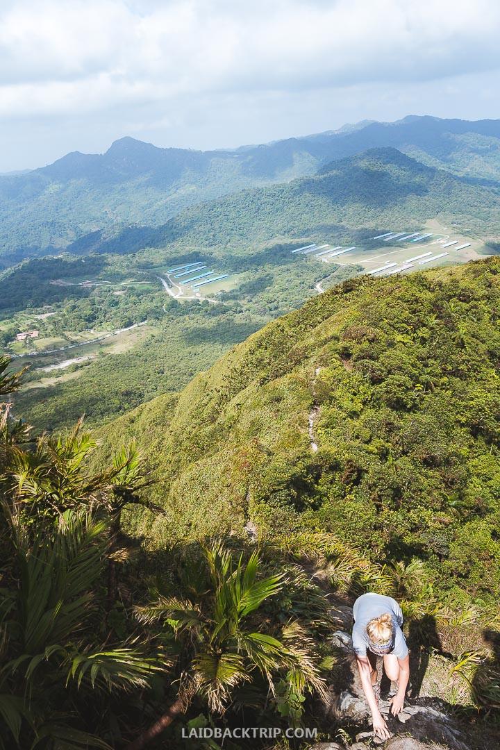 Cerro Gaital Hike is challenging day hike in El Valle de Anton, Panama.