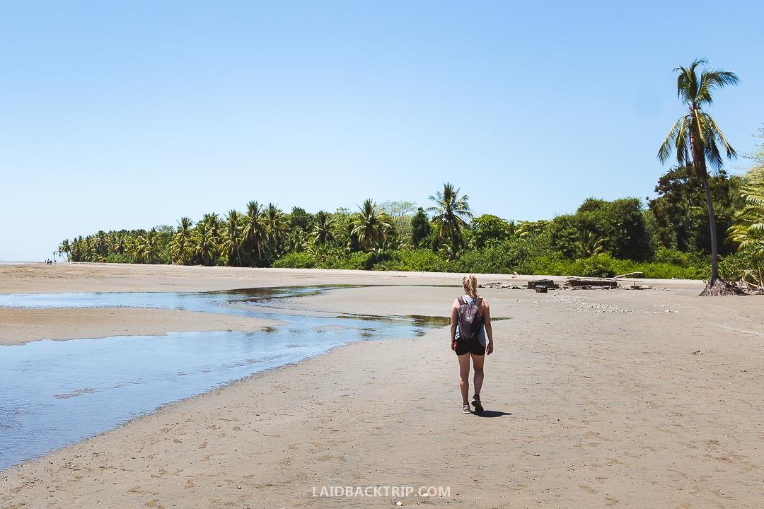 Uvita is a small town in Costa Rica on the Pacific side of the coast.