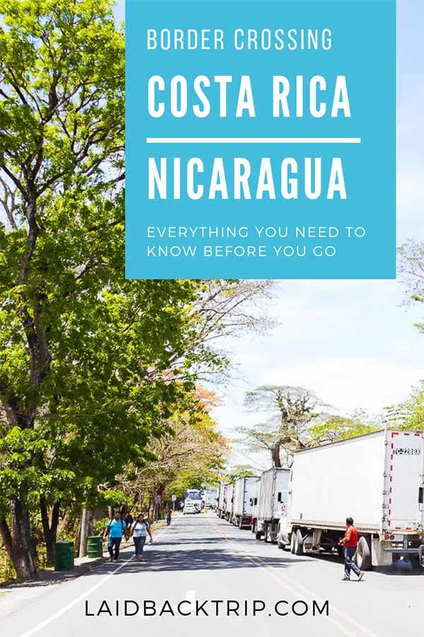 Costa Rica To Nicaragua Borders Crossing