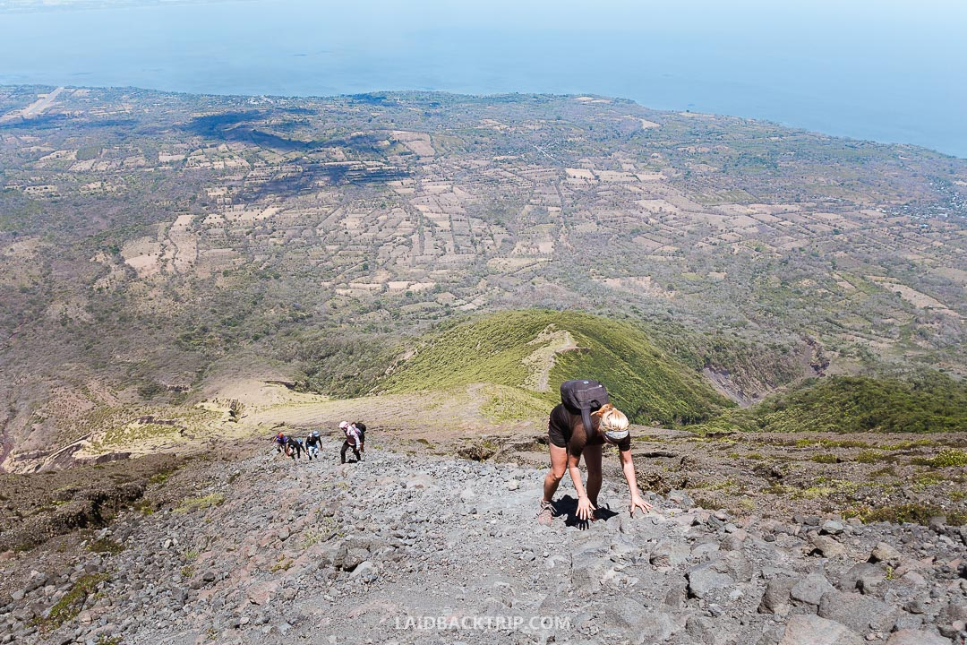 The hike is a great activity to do while in Nicaragua.