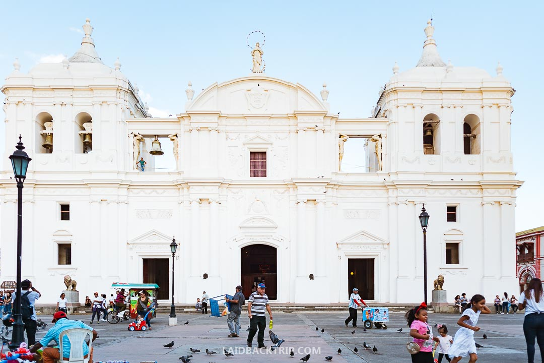 Leon, Nicaragua is a colonial town worth visiting.