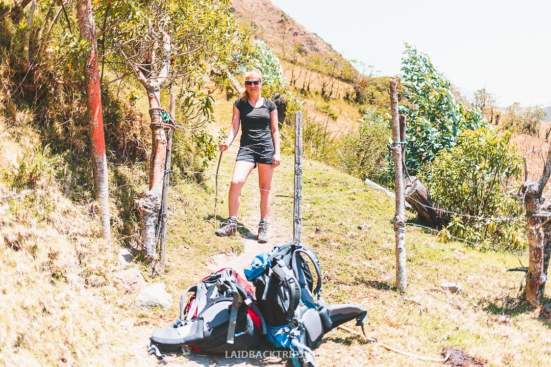 Quilotoa Loop is amazing trek in Ecuador.