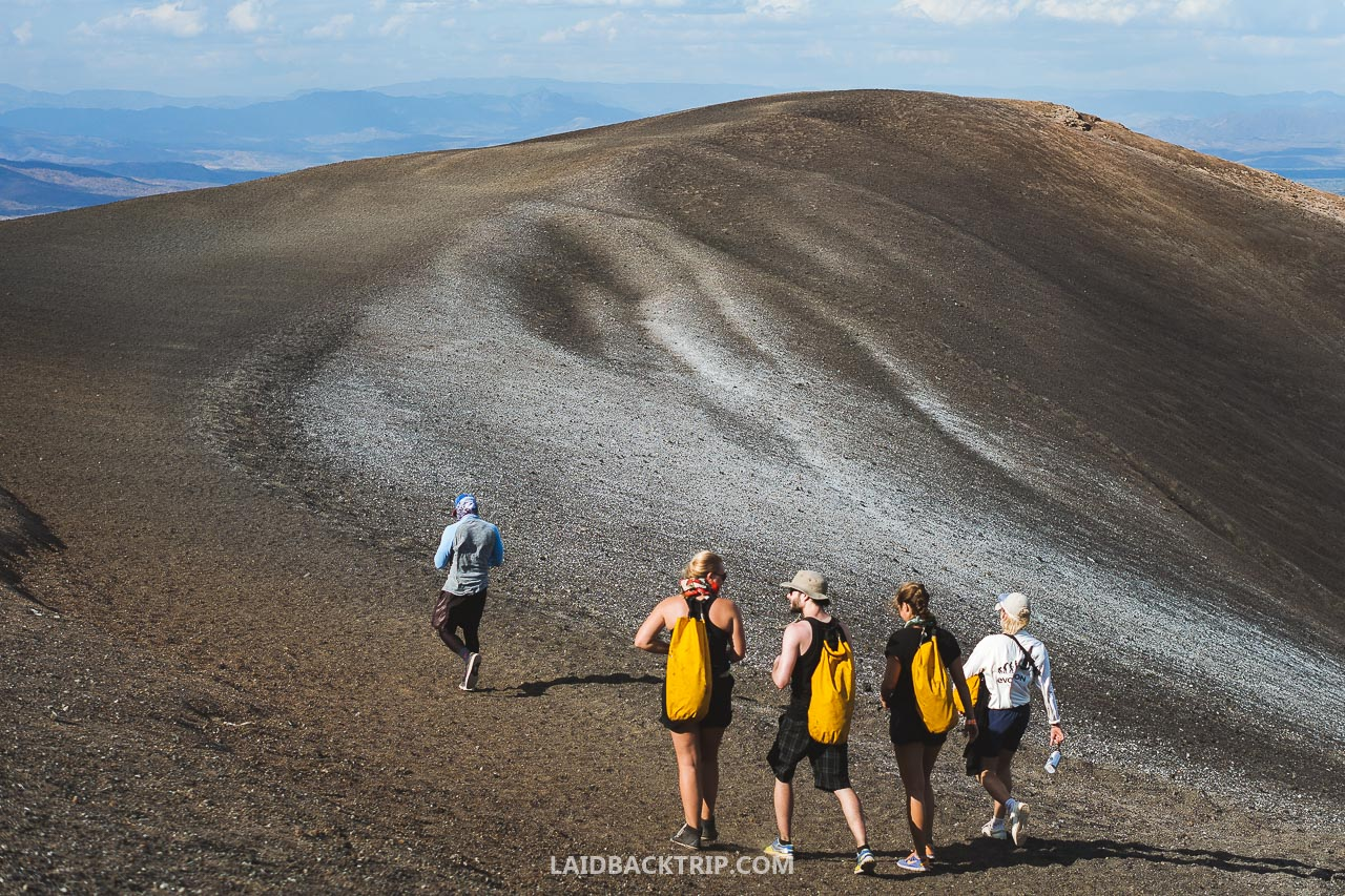 You can get to Cerro Negro with a tour or rental car.
