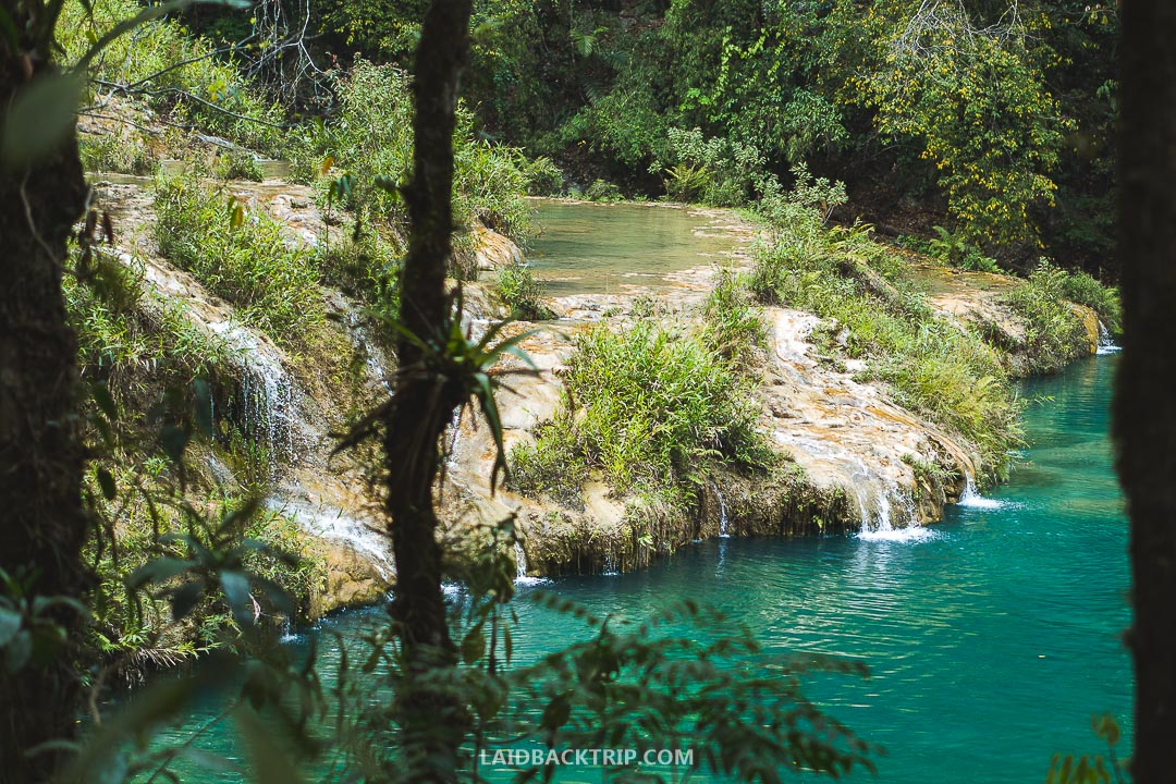 Semuc Champey is popular among backpackers and adventurous tourists.