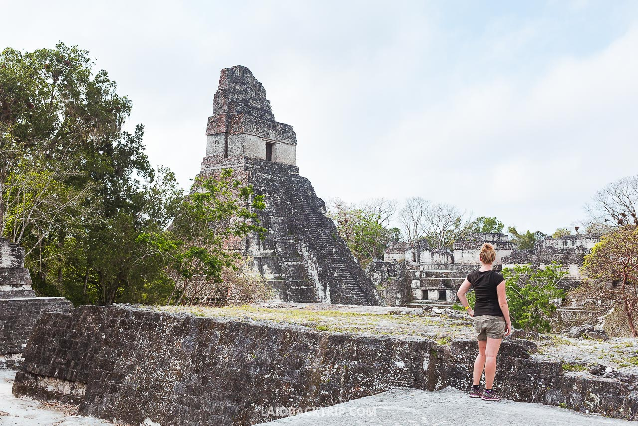 Visiting ancient Mayan ruins of Tikal, Guatemala is one of the best activities and adventures to do in Central America.