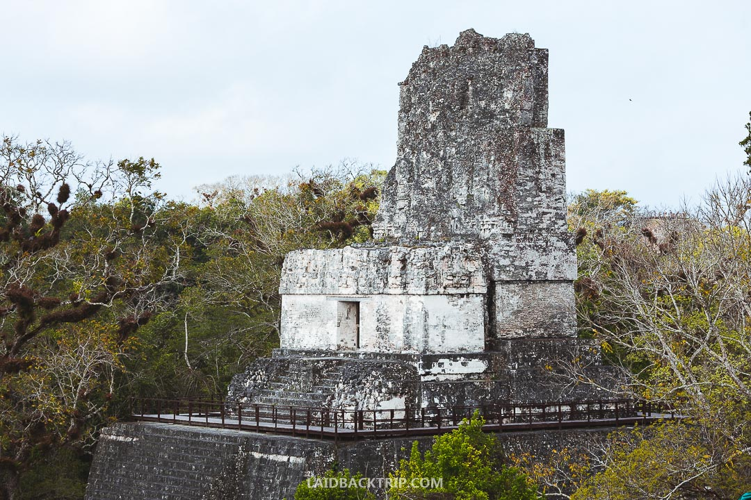 There is an option to visit Tikal for a sunrise tour but you need a guide.