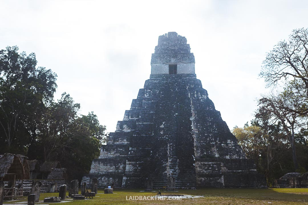 We visited the Tikal early in the morning to avoid the crowds.