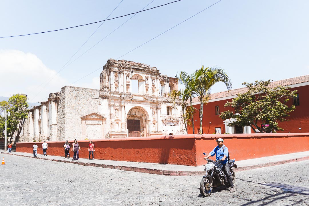 A trip to Antigua is a must while exploring Guatemala.