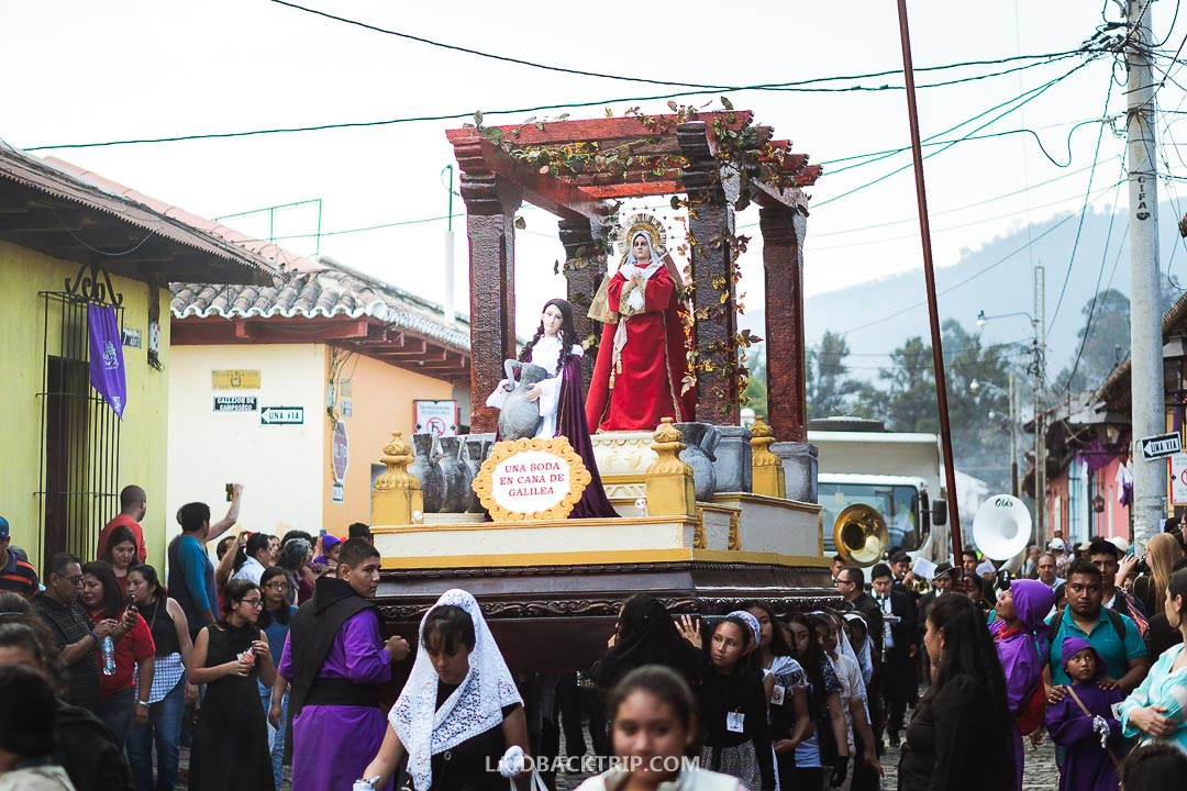 The Easter time in Antigua is full of celebrations, festivals and events.