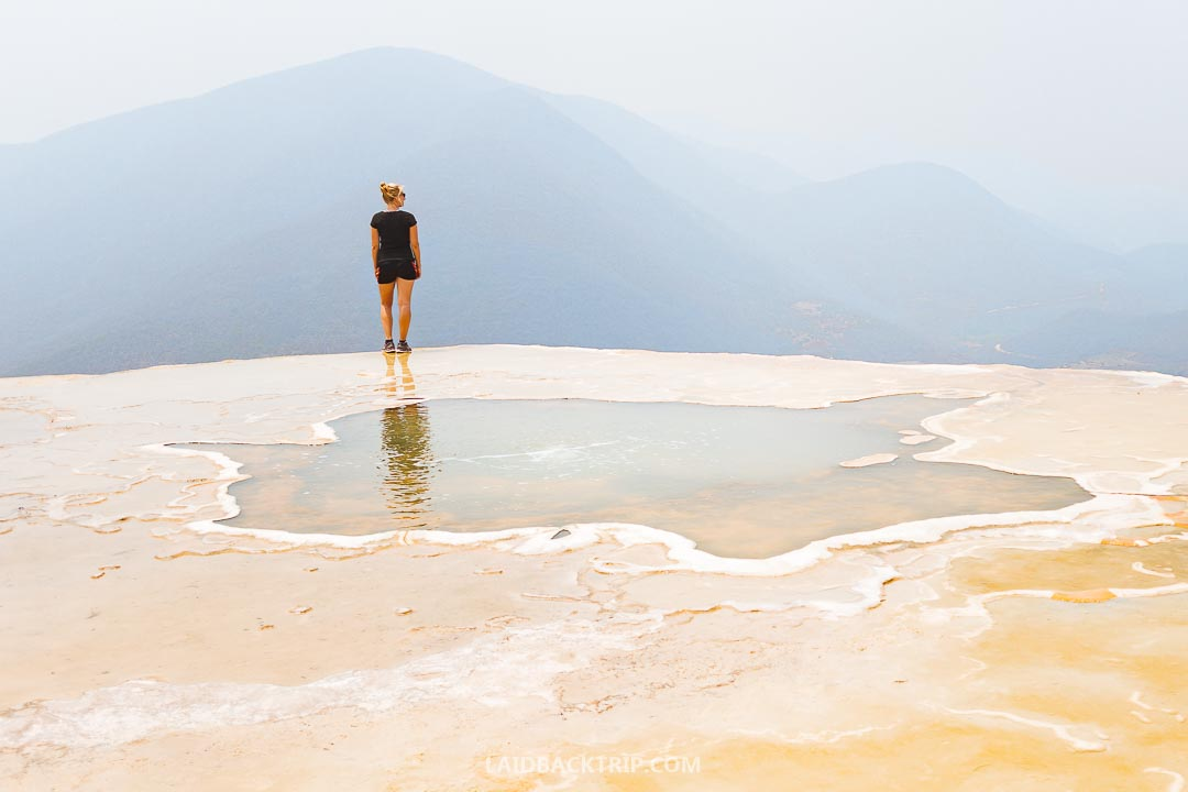 Hierve El Agua is a must visit while exploring Mexico.
