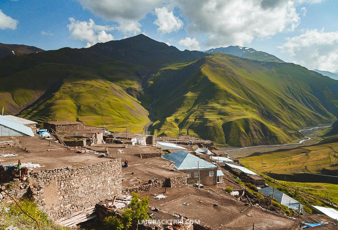 Xinaliq is a beautiful remote village in Azerbaijan, and you should visit it while exploring this amazing country.