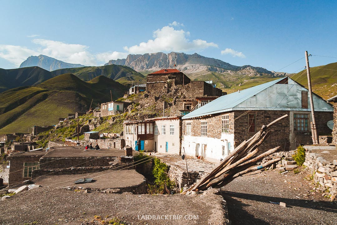 Xinaliq is a traditional village in Azerbaijan mountains.