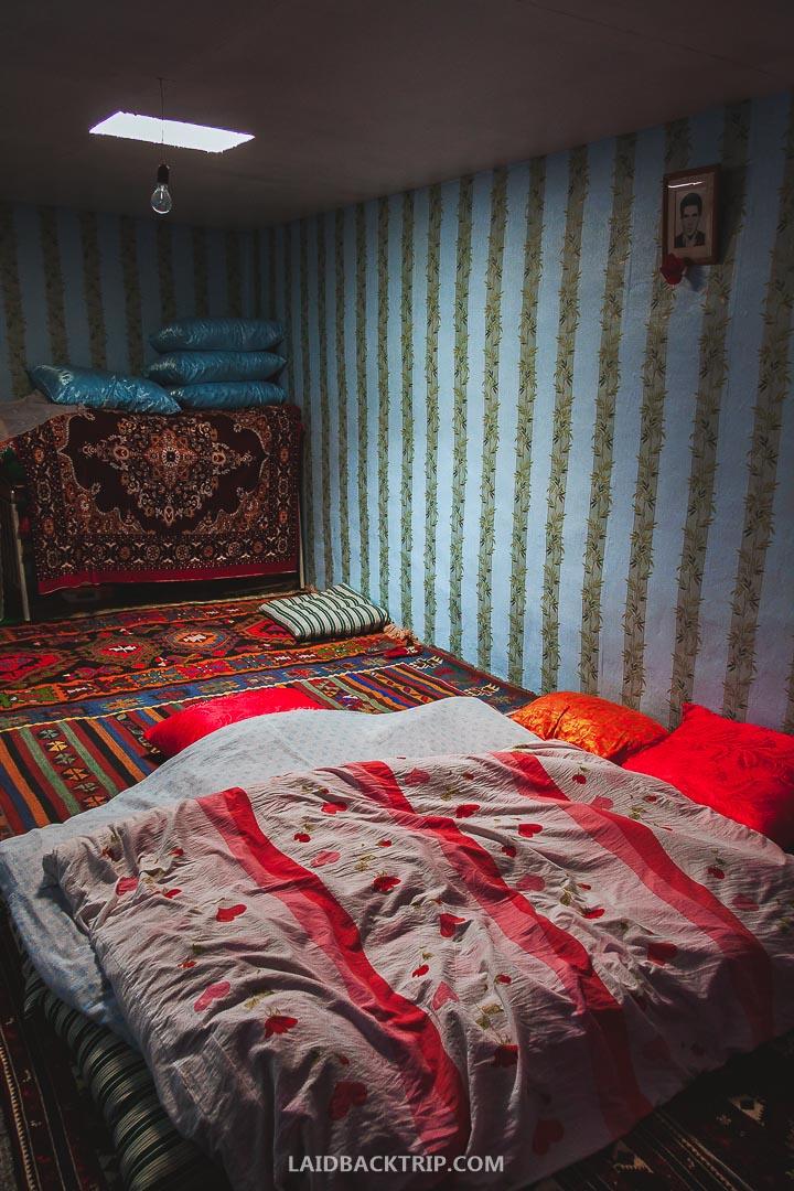 Xinaliq offers basic accommodation options.