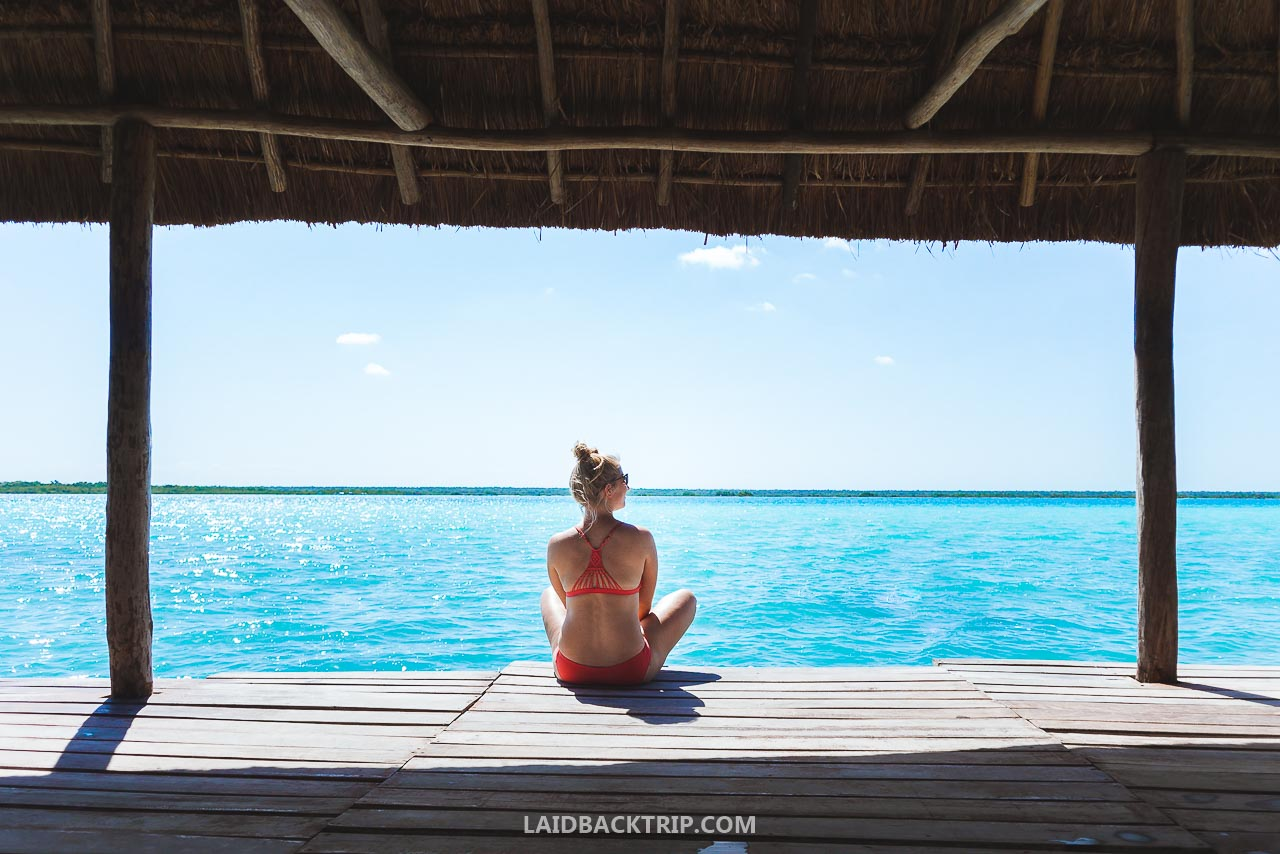 Read our travel guide to Bacalar, one of the best things to do in Yucatan, Mexico