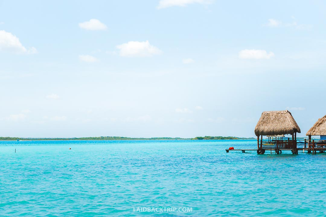 You can stay in Bacalar overnight or come to visit on a day trip from Chetumal or Tulum.