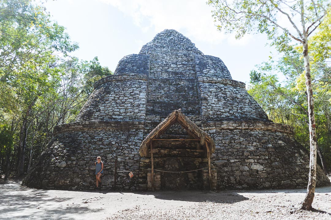 We visited Coba Ruins on a day trip from Tulum.