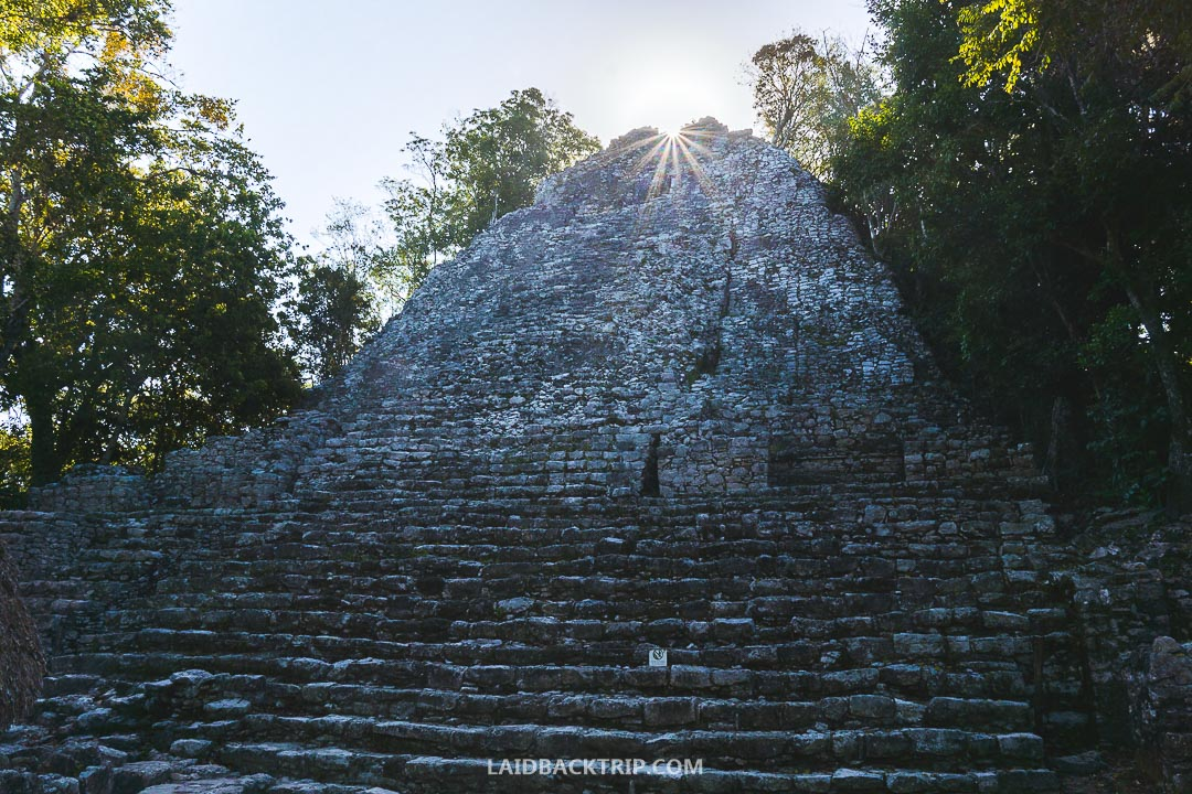 Coba Ruins were one of our favorite Mayan site in Mexico, Central America.