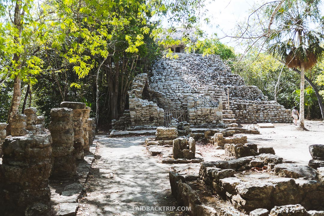 Visit the ruins early in the morning, you will beat the crowds and the sun.