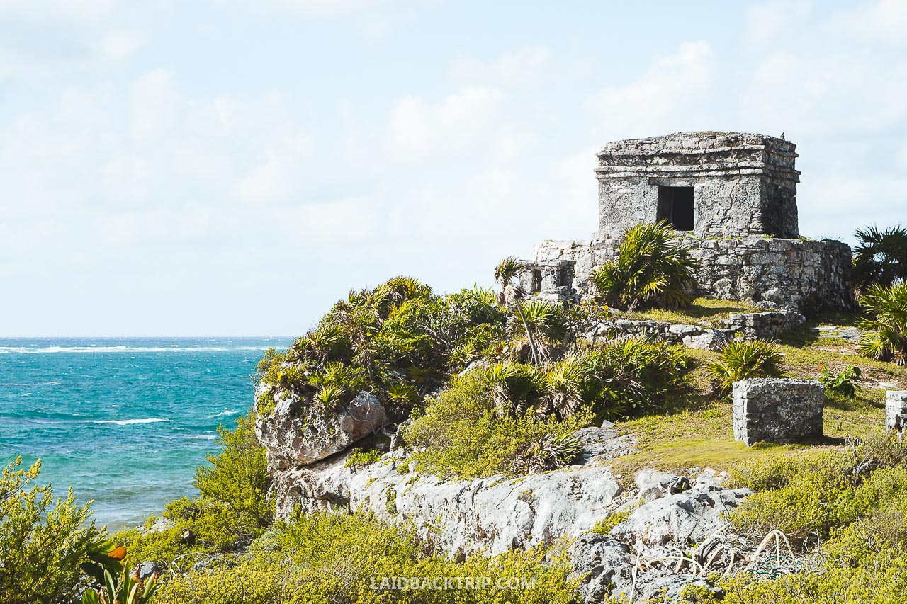 Read our travel guide to Tulum ruins, one of the best things to do in Yucatan, Mexico