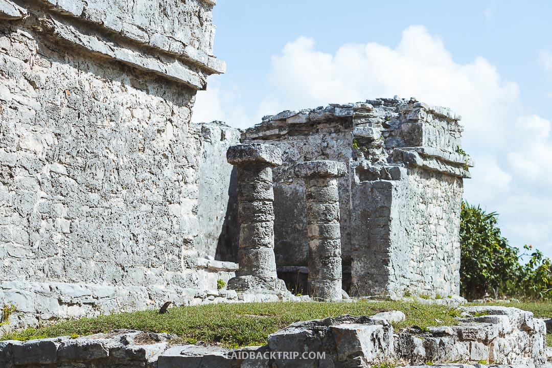 Tulum Ruins is a famous Mayan site near Tulum city on Yucatan peninsula.